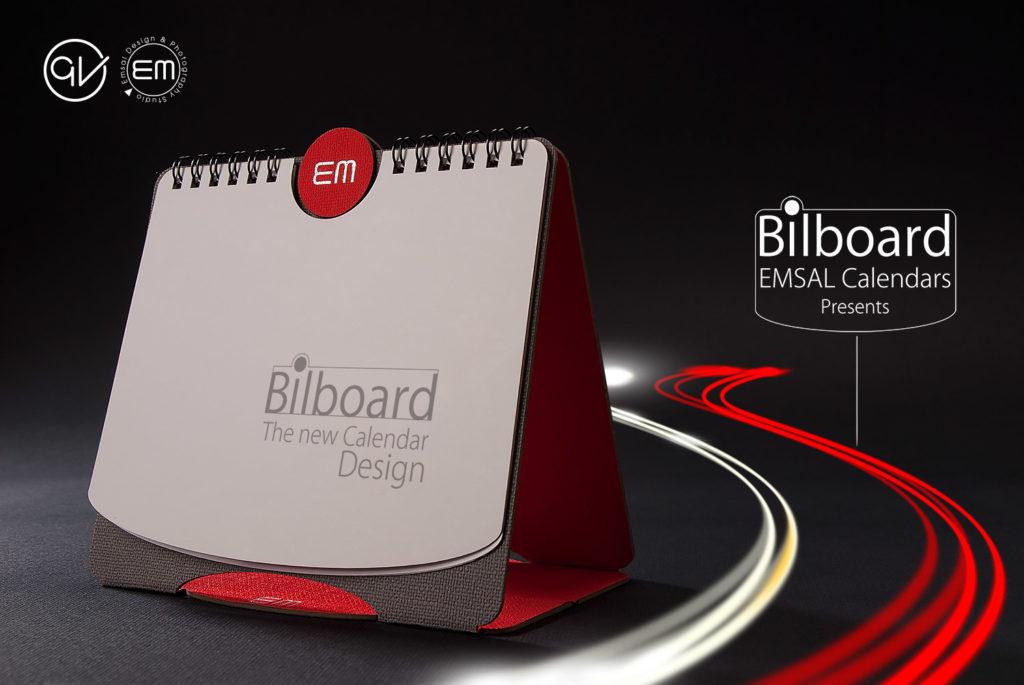 تقویم رومیزی مدل بیلبورد، یک بیلبورد کوچک روی میز